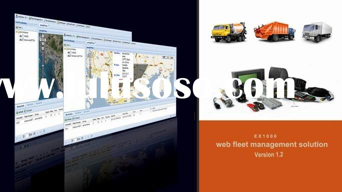 web based GPS tracking software + GPS vehicle tracker