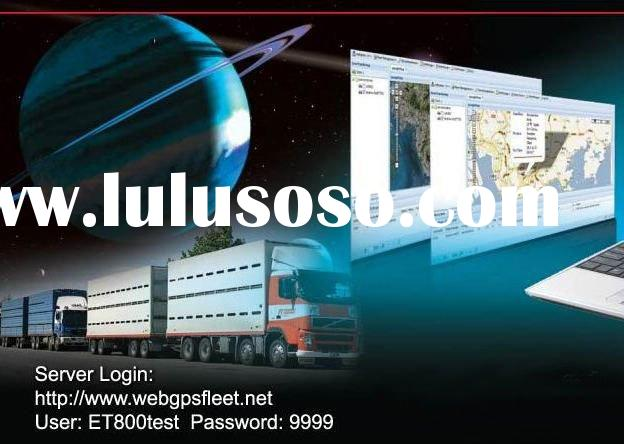 web based GPS tracking software for fleet management system