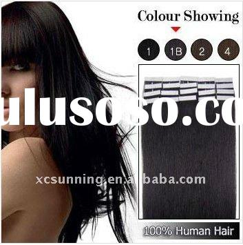 100% Indian Remy Hair Adhesive Hair Extensions