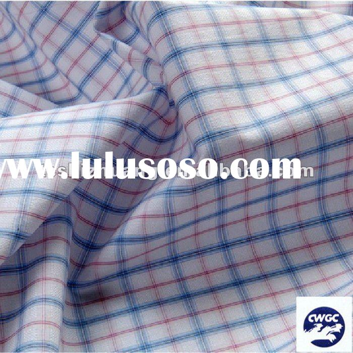 100% cotton chambray fabric for men shirt fabric