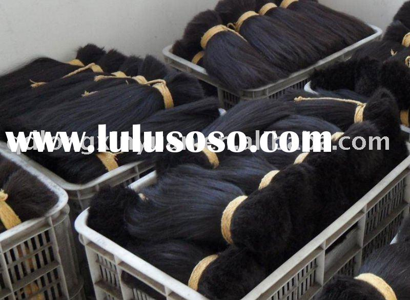 100% human hair extension factory