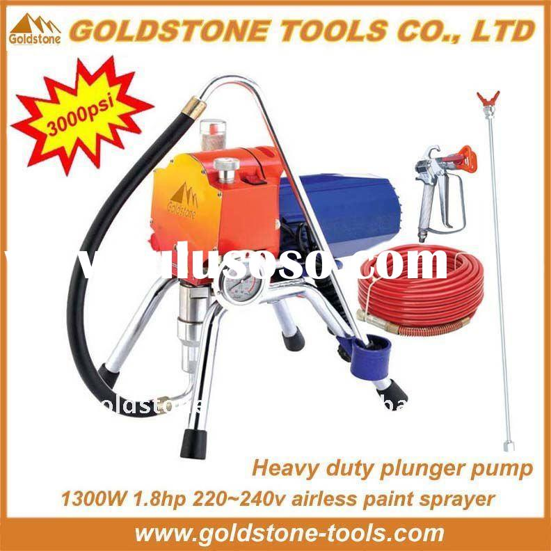 1300W,1.7hp,3000psi paint spray machine,paint sprayer airless,high pressure airless paint sprayer