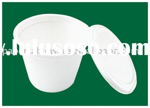 14 oz disposable soup paper bowl for food store