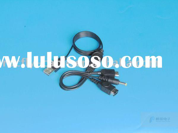 1.2m USB Power Cable for Nintendo DS , DS Lite, GBA SP, Sony PSP console 3000, PSP 2000 and PSP 1000