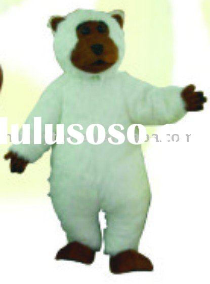 2010 HI 369 Teddy Bear mascot costume