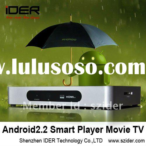 2011 Android google TV Box HDMI IPTV for Online Streaming