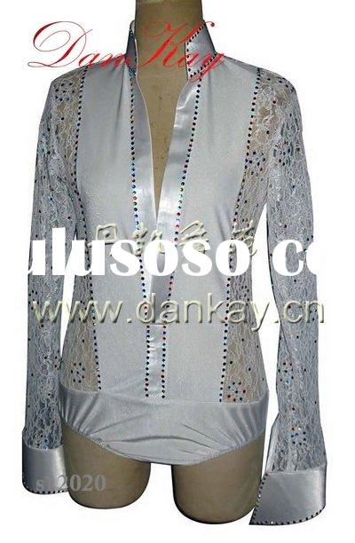 2011 Ballroom/Rumba/Salsa/Latin Dance Shirts,Men's Dancewears, Dancing Costumes (s12016)