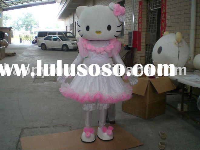 2011 Hello kitty mascot costume
