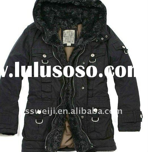2011 LATEST fur collar coat men