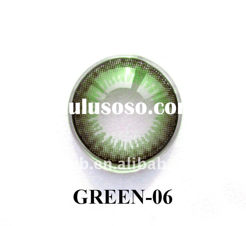 2011 colored green contact lenses ( Green-06 )