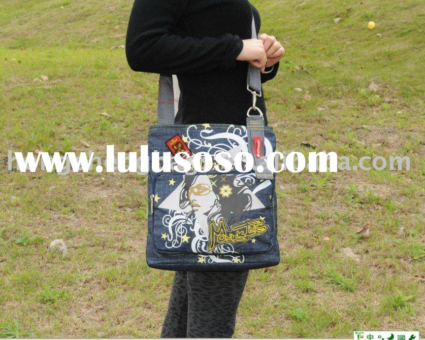 2011 fashion canvas messenger bag
