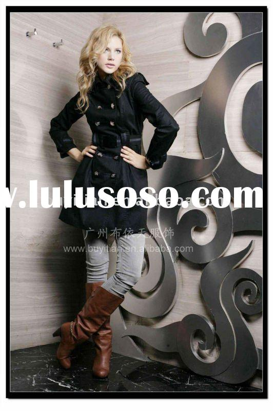 2011 girl's long jacket for autumn and winter