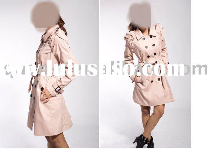 2011 wholesale fashion ladies designer coat dresses