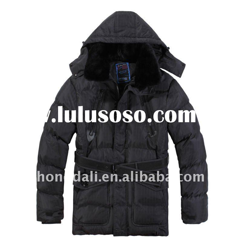 2011 winter padding long coats for men