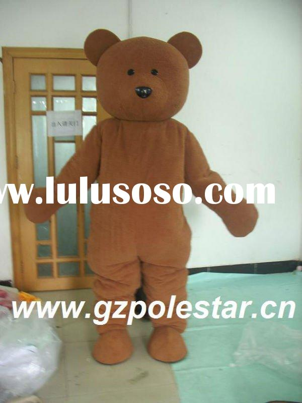 2012 characte teddy bear mascot costume for party NO.1808