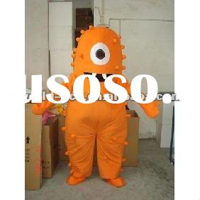 2012 hot sale Popular mascot costumes/movie cartoon costume Yo gabba