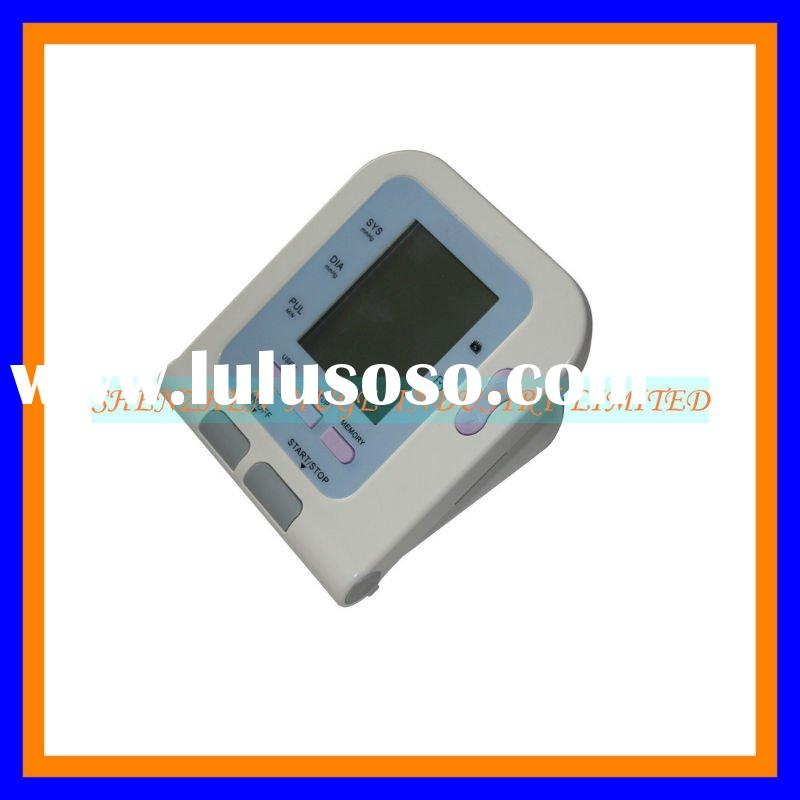 2012 hot selling high quality aneroid blood pressure cuff/monitor with SPO2 testing