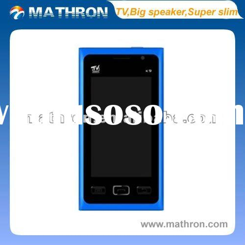 "2012 hottest! K9 phone 3.0 "" WQVGA latest fashion TV mobile phone, Cheap and delicately dual SI"