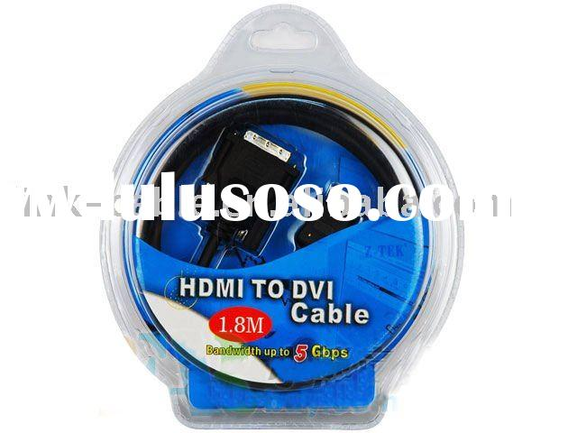 25 ft HDMI to DVI Cable 1.3v 1080p For HDTV LCD Digital