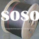 "3.2mm (1/8"") 1x19 stainless steel wire rope and cable/ strand"