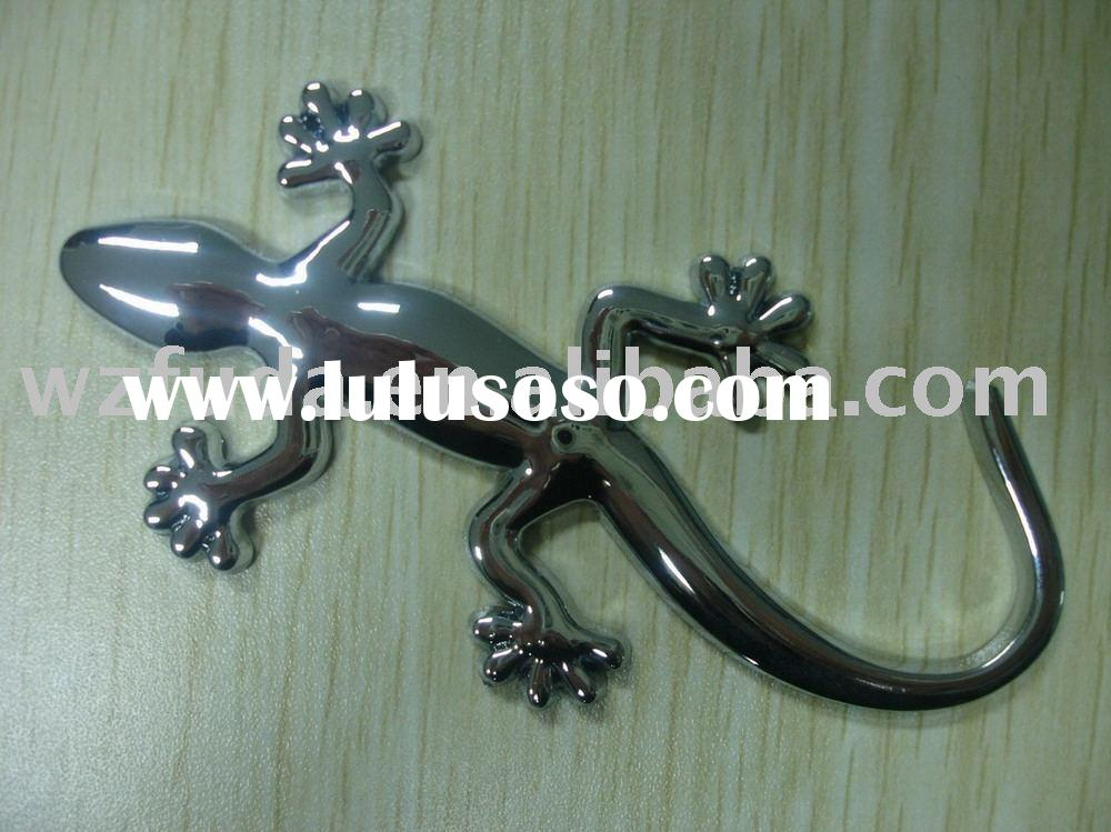 3d sticker,Gecko sign,body car/auto sticker,logo badge,letter badge with 3M sticker/glue,chrome/elec