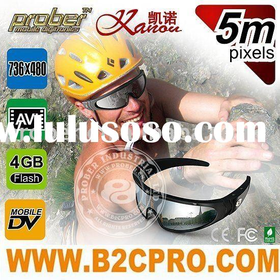 4GB glasses camera, for hunting, climbing, hiking, cycling