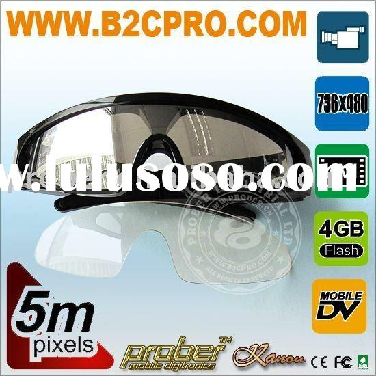 5.0MP camera glasses for hunting