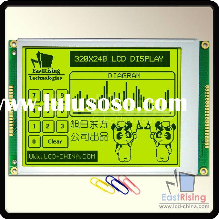 "5.7"" 320X240 Touch Screen Graphic LCD with SED1335 controller"