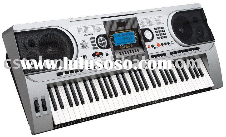 61 Key Electronic Keyboard with USB port and Touch Function