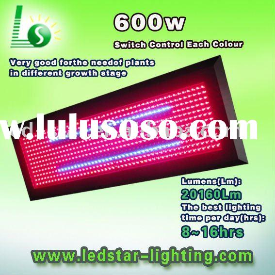 630nm/660nm high power led grow lights vs hps 600W