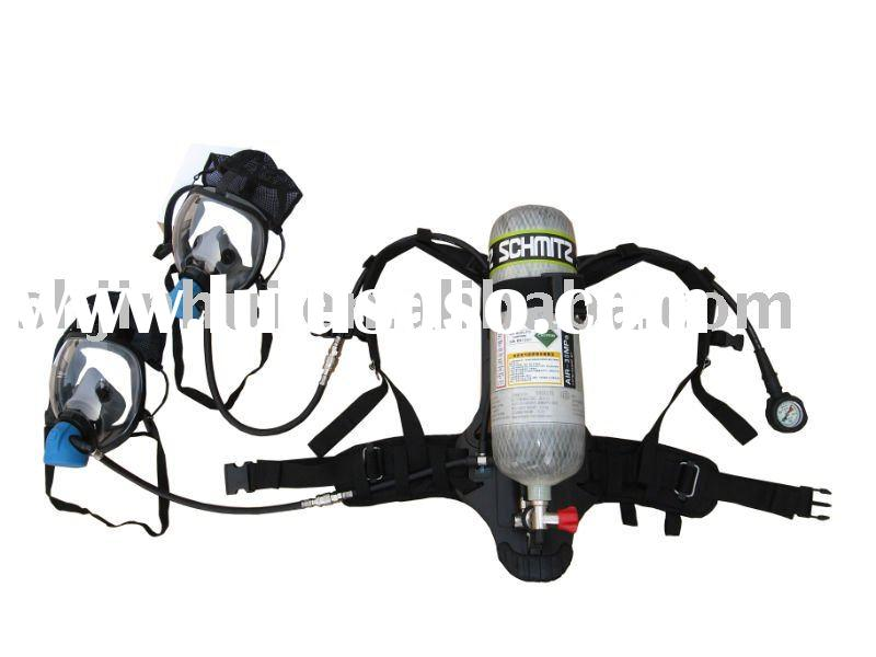 6.6L scba cylinder positive pressure air breathing apparatus