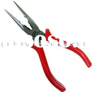 6 inch (150mm) Long Nose Pliers, Cutter Pliers, Multi Purpose Long Nose Pliers