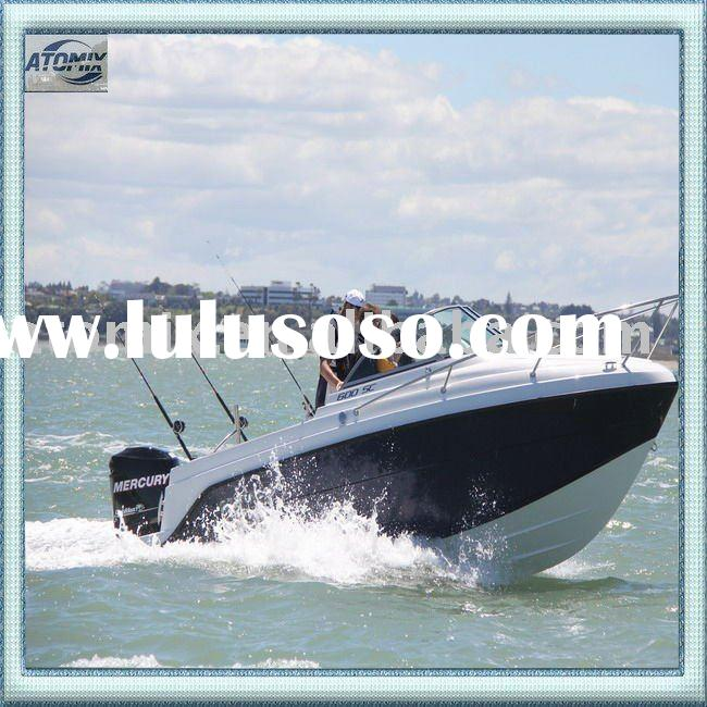 6 meter CE approved Sports boat with outboard engine (600 Sports Cuddy)