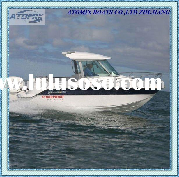 6m Fishing Boat with outboard engine (600 Hard Top Fisherman)