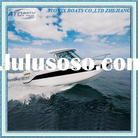 6m Fishing boat with Mercury outboard engine (600 Hard Top Fisherman)