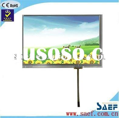 "7 ""inch with 4-wire touch screen 800*(RGB)*480 Landscape with Innolux AT070TN83 V.1 TFT LCD Mod"