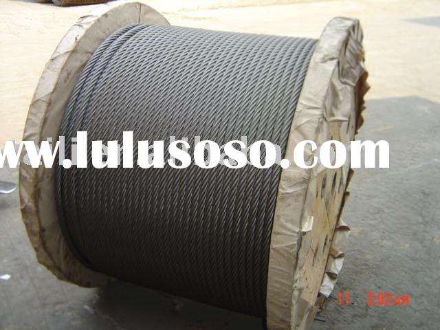 8X19/ galvanized steel cable/ galvanized steel rope galvanized wire rope