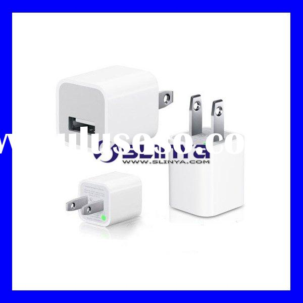 AC Power USB Wall Travel Charger Adapter iPod iPhone 3G 3GS
