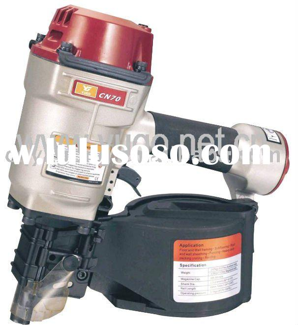 Air pneumatic coil nailer
