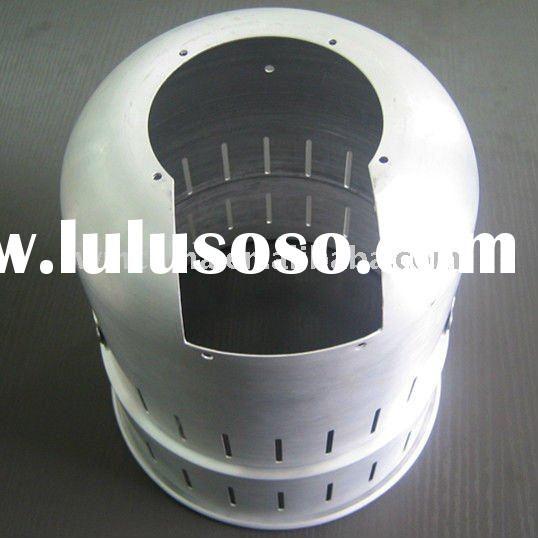 Aluminum punched assembly parts used on Medical equipment
