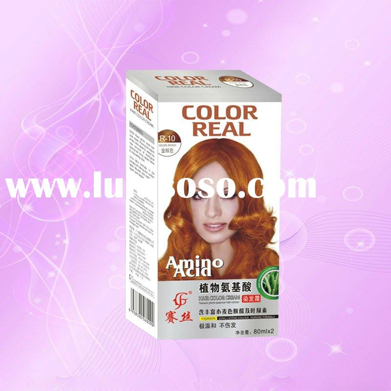 Amino acid coloring hair dye products