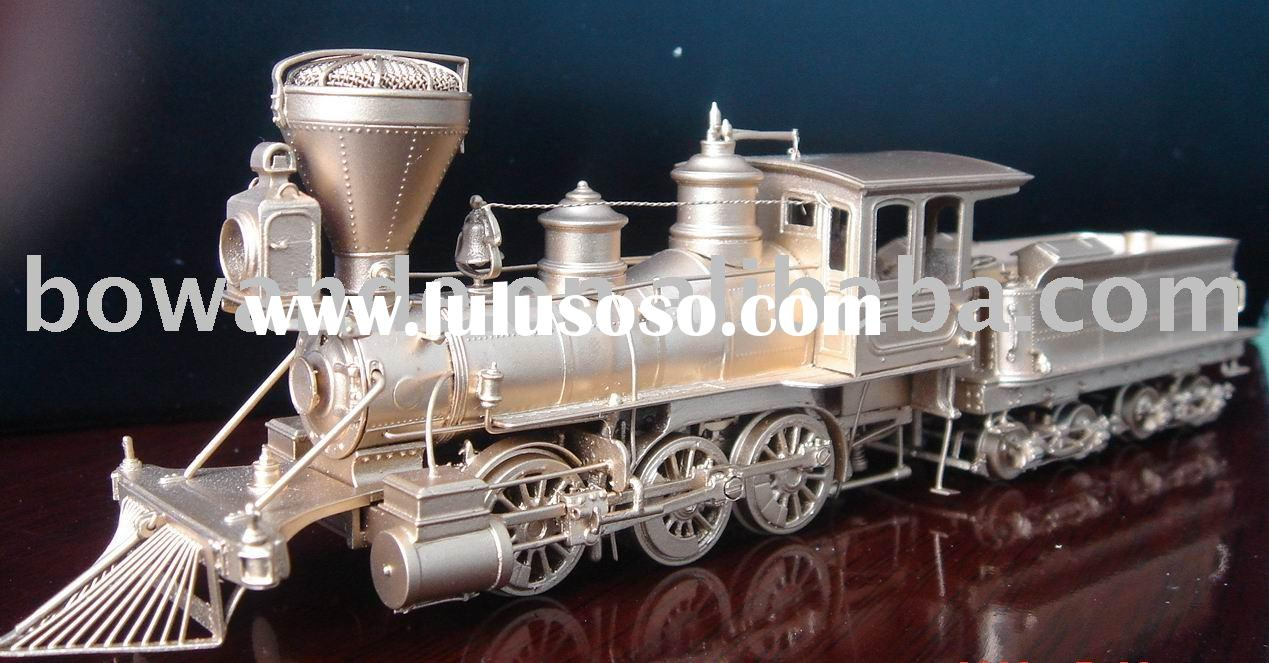Antique model - HO scale , Brass train toy