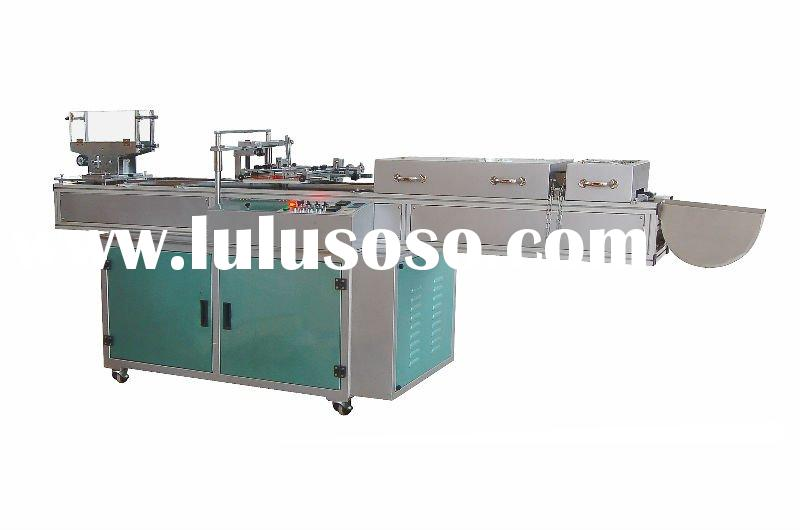 Automatic screen printing machine for pens sleeves