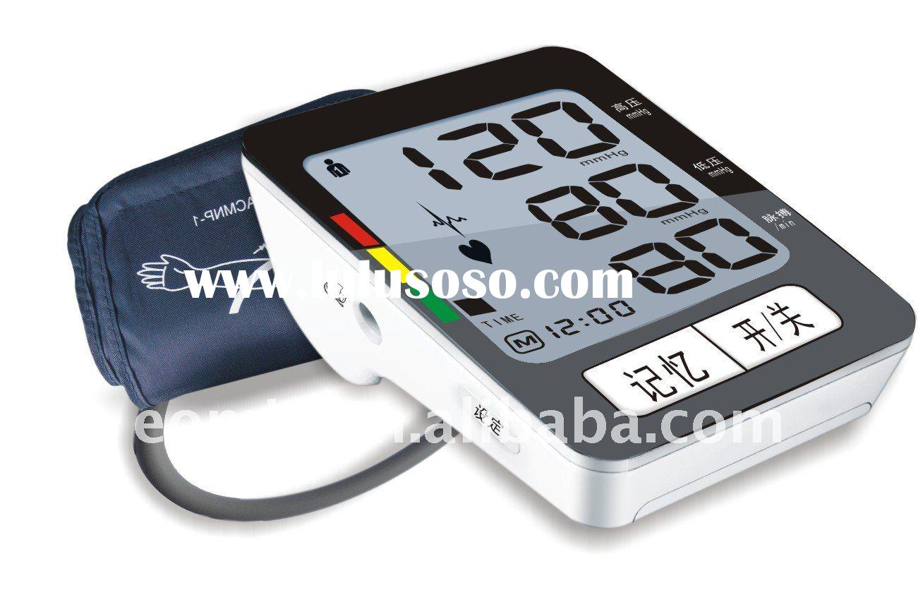 Automatically arm blood pressure monitor/meter