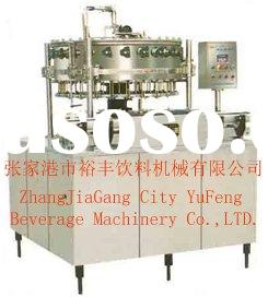 Balanced pressure filler/soft-carbonated drink filling machine