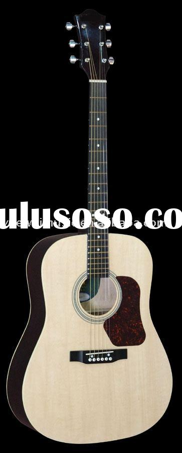 Basswood plywood Acoustic Guitar string instrument