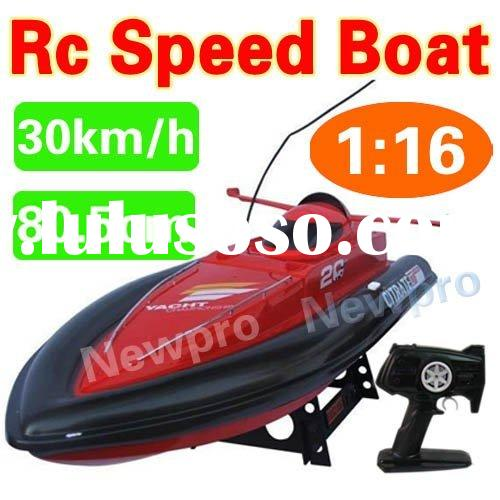 Big size 80.5cm High speed 30km/h RC Remote Control Flying Fish rc speed boat B1782(R)
