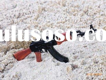 Brand plastic game imitation toy gun model AK-47(accept OEM)