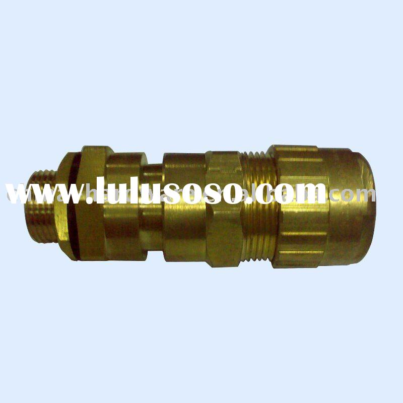Brass explosion proof cable gland,water proof , marine cable gland