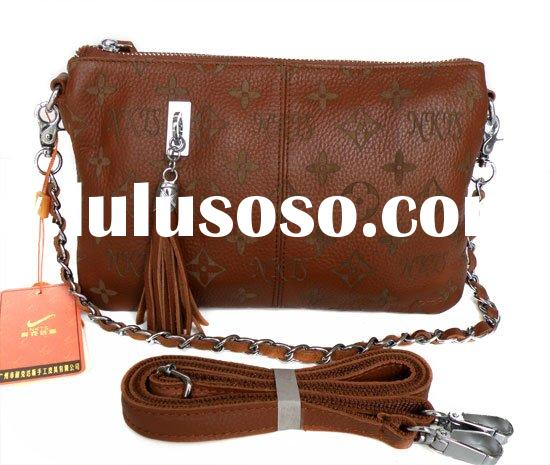 Brown Leather Cute Style Shoulder Messenger Bag Handbag
